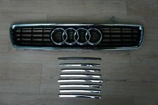 1998 - 2001 for AUDI A4 B5 Typ 8D New Style GRILLE MOULDING , Made In Taiwan