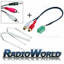 Renault Megane Update List Aux-IN Adaptor iPod/MP3/AUX to 3.5mm Jack Lead Kit