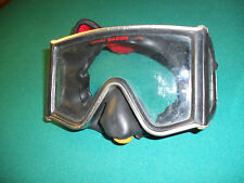 RARE Vintage Scuba West Diving Mask/Swimming Goggles with Dacor tempered lens