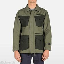 NWT VOLCOM Blaston mens Medium weight Zip Jacket Military Green je191