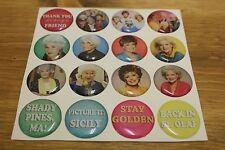 GOLDEN GIRLS Stickers Epoxy 1inch round Bottle Cap Magnet