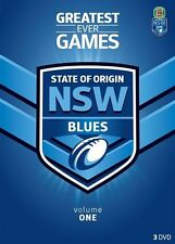 NRL - State Of Origin - Greatest Ever Games - New South Wales (DVD, 2013,...