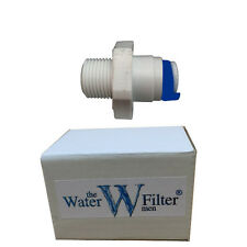 """WATER FILTER HOUSING AND WATER FILTER FITTING WITH 1/4"""""""