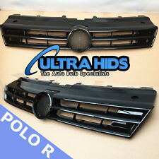 POLO R 6R GRILLE BLACK GLOSS 2008 + VW VOLKSWAGEN MK5
