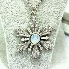 Free Shipping ONce Upon a Time / Frozen Anna's snowflake  Necklace