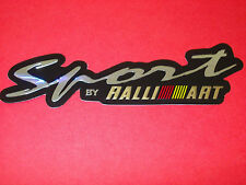 RALLIART SPORT  3D EFFECT FOIL DECAL  UK  ,FREEPOST