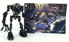 Lego Bionicle 8532 Toa Mata ONUA Complete Figure with Instruction Book