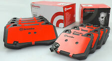Genuine BREMBO HEAVY DUTY brake pads for NISSAN 350Z Z33 FRONT & REAR TRACK PACK