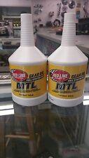 Red Line Oil 50204 GEAR OIL - MANUAL TRANS MTL GL-4 70W80 (SAE 75W80) 2 QUART