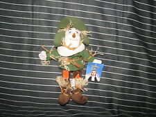 Vtg 1998 The Wizard of Oz Scarecrow Bean Bag Plush Warner Bros Store New