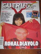 GUERIN SPORTIVO=N°20 1997=POSTER STORY DI ROBY BAGGIO=NATALIA ESTRADA COVER=
