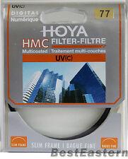 NEW HOYA 77mm HMC UV(C) Slim Frame Multi-Coated Filter 77 mm