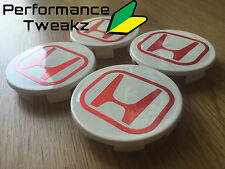 Nouveau jdm honda civic type r EP3 wheel centre caps DC5 FN2 EP2 rota alliages vtec uk