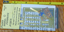 Plano #10875 Covered Hopper Replacement End Frames & Details - Kit (Etched Metal