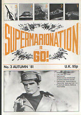 """Gerry Anderson """"SIG"""" Magazine Issue 3 - Space: 1999 - 95p Cover Price!!!!!"""