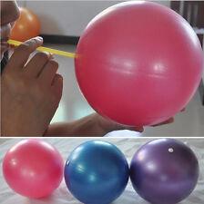 """Fresh Pilates Yoga 8"""" Blue Ball Fitness over ball bender  SLG"""