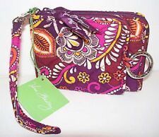 Vera Bradley SAFARI SUNSET DOUBLE ID WRISTLET WALLET ZIP CLUTCH NWT