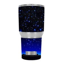 Skin Decal for RTIC 30 oz Tumbler Cup (6-piece kit) / Stars over glowing Sky