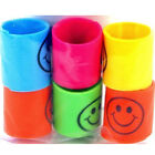 New 12 Slinky Smiley Mini Springs Pinata Party Bag Fillers Wedding Kids Toy