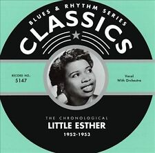 1952-1953 by Little Esther-CLASSICS CD NEW