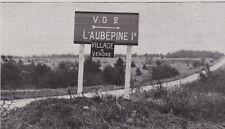 ANNEES 20  --  L AUBEPINE PRES TONNERRE   VILLAGE A VENDRE    3C475