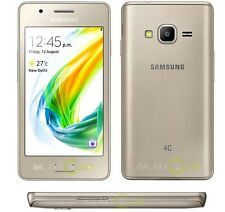 Brand NEW SAMSUNG Z2 Tizen GOLD * 4G LTE * 8GB UNLOCK SMART PHONE CON LED FLASH