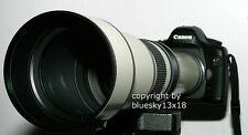 Profi tele zoom 650-1300mm del reg Olympus e-300 400 410 510 610 620 330 500 420, etc