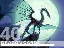 MTG Dragon Lot - 40 RARE / FOIL Cards - Magic Lot Set Collection EDH Deck Tribal