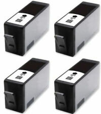 4x Black HP 364 XL Ink Cartridges for PhotoSmart C310a C309a B209a B210a c410