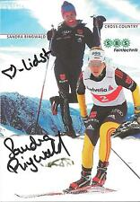 Autogramm AK  Sandra Ringwald Ski Langlauf Vize WM 2013 U 23 SBS Feintechnik