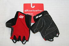 Bellwether Womens Supreme Gel CYCLING GLOVES Fingerless Gloves Large Red