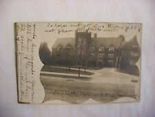 Real Photo Postcard RPPC Downer College Milwaukee Wisconsin WI 1900s #1759