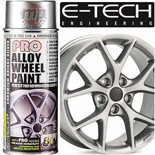 E-Tech PRO Alloy Wheel Refurbish & Refresh Spray Paint - Chromium Bright Silver