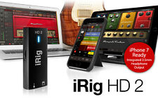 IK Multimedia iRig 2 HD: Records Guitar and Controls your Amp-PC/MAC/iOS