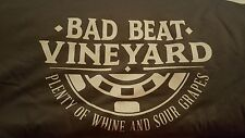 Bad Beat Vineyard Poker T-Shirt by High Roller Clothing