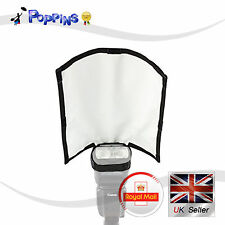 NEW Foldable Speedlight Reflector Snoot Sealed Flash Bender Softbox