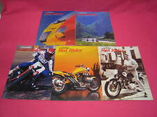 USED 5 HONDA RED RIDER MOTORCYCLE MAGAZINES ALL 1997 SEE ISSUE DETAIL BELOW (Y3)