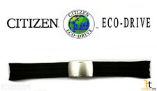 Citizen Eco-Drive Original CB0020-09E 23mm Black Rubber Watch Band Strap