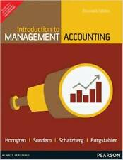 Introduction to Management Accounting (EDN 16) by Charles T. Horngren,Jeff O. Sc