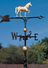 "30"" Race Horse Weathervane w/Arrow-3D equestrine Pony  wind vane"