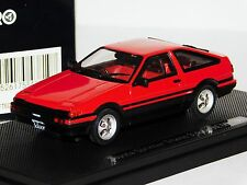 TOYOTA SPRINTER TRUENO 3 DOOR AE 86 1983 RED EBBRO 43819 1/43
