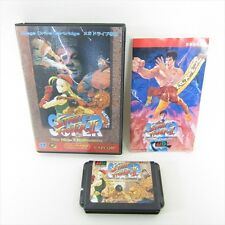 SUPER STREET FIGHTER II 2 Item Ref/cbc Mega Drive SEGA Capcom JAPAN Game md