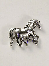German Bavarian Munich Oktoberfest - Family of Horses Trotting - GERMAN HAT PIN