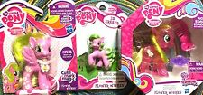 My Little Pony FIM Flower Wishes 3 Item Gift Set! Water Cutie Charm Figure LOT