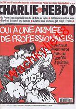 Charlie Hebdo n°189 du 31/01/1996 Armée profesionnel Couteau Charb