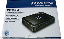 ALPINE PDX-F4 CAR 4-CHANNEL  EXTREME POWER DENSITY DIGITAL AMPLIFIER 4 x100 RMS