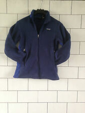 WOMENS PATAGONIA URBAN VINTAGE RETRO FLEECE SWEATSHIRT JACKET COAT UK SMALL #1