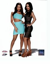 BELLA TWINS BRIE NIKKI UNSIGNED 8x10 PHOTO FILE WWE WWF WRESTLING TOTAL DIVAS