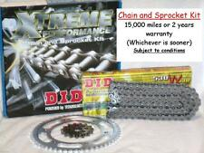 Honda CB600 Hornet 1998 to 2006 Models DID X-Ring Chain & Sprocket Kit Set