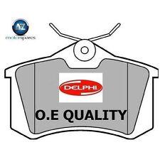 Pour PEUGEOT 308 1,6 VTI Estate 2008 - & gtonwards nouveau arrière plaquettes de freins delphi disque set